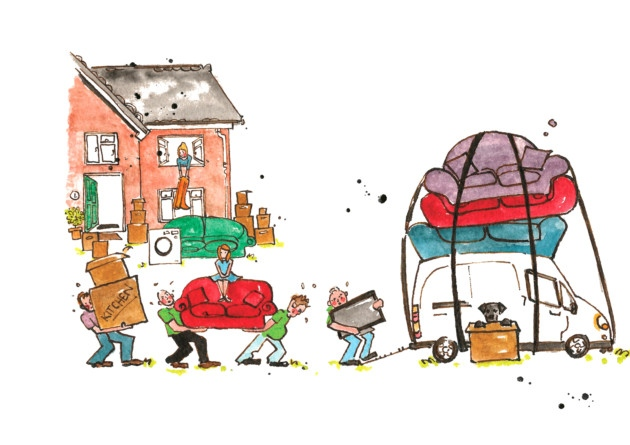 Top 10 tips for packing up your home